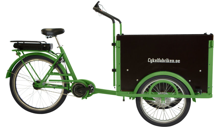 Bakfiets Klassisk light with SHimano motor
