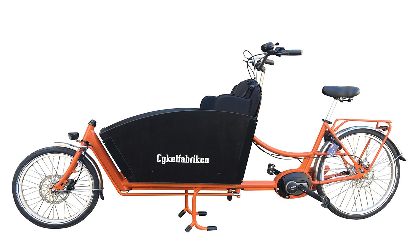 Cykelfabriken Lådcyklar och Bakfiets