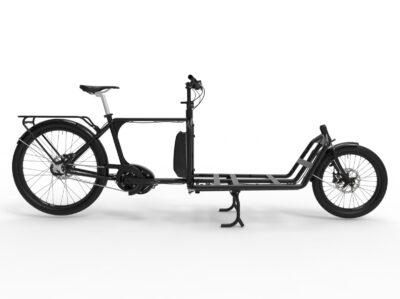 Sportii en snabb lastcykel
