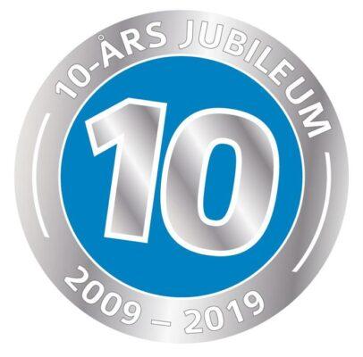 10 årsjubileum