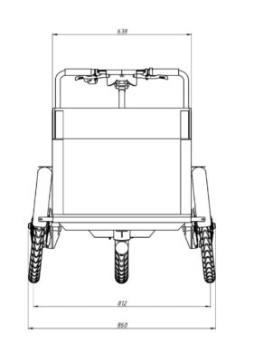 stabilitet på 3-hjul lådcykel Måtten