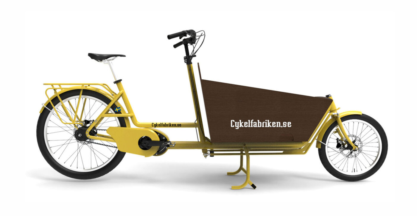 Bakfiets long Cykelfabriken