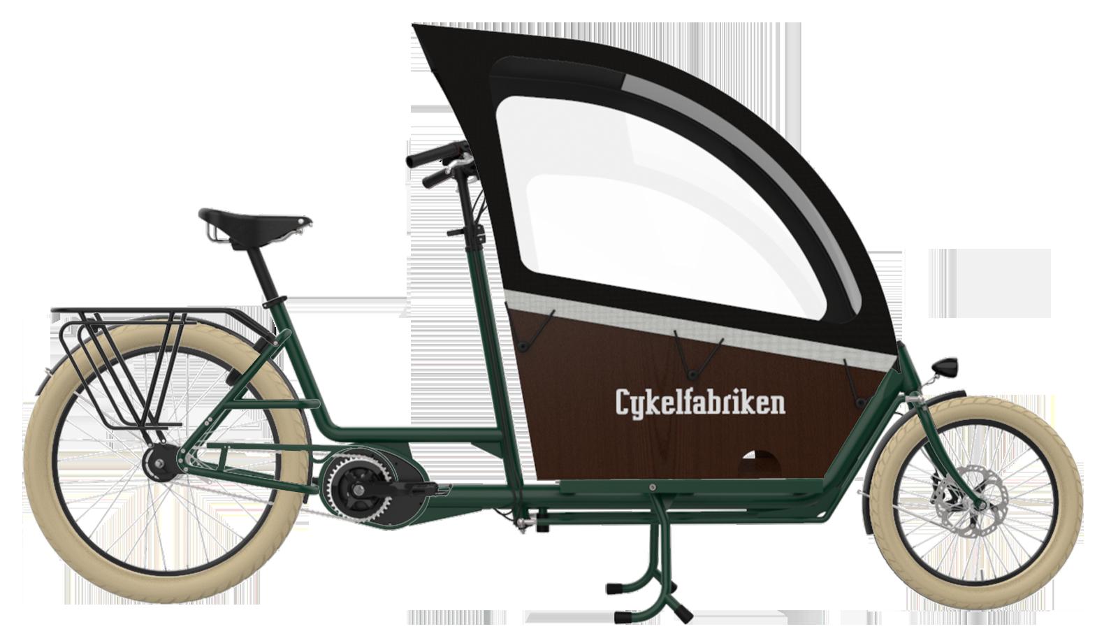 Bakfiets_Long_Full_bike_Pearl_Green_RainCover