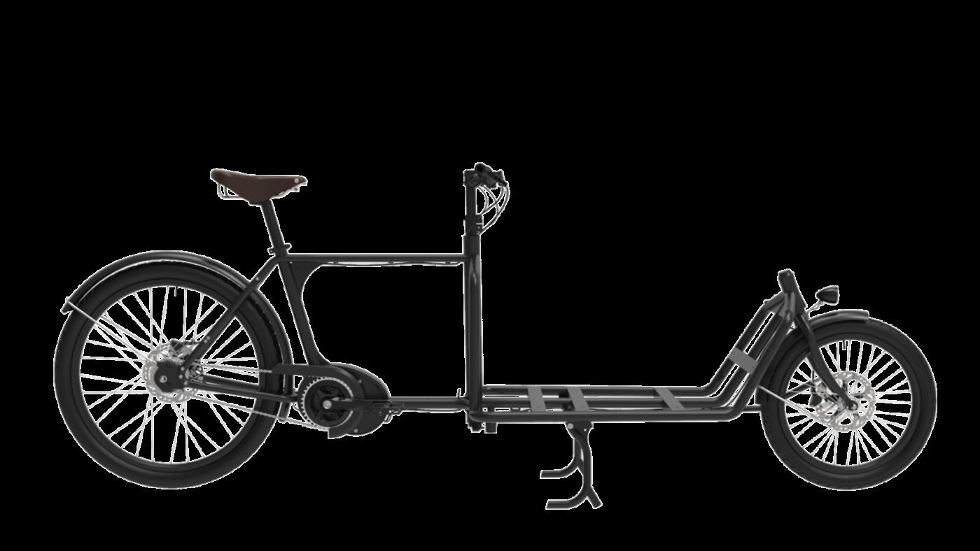 Lastcykel Sportii Alfine 8 Black